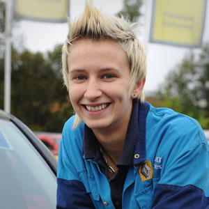 Women should not be put off by men in the motor industry. They usually do a better job! Heather Johnstone - 95584-heather