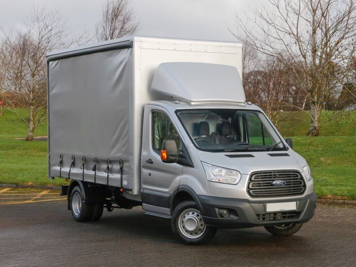 Curtain-sided vehicle