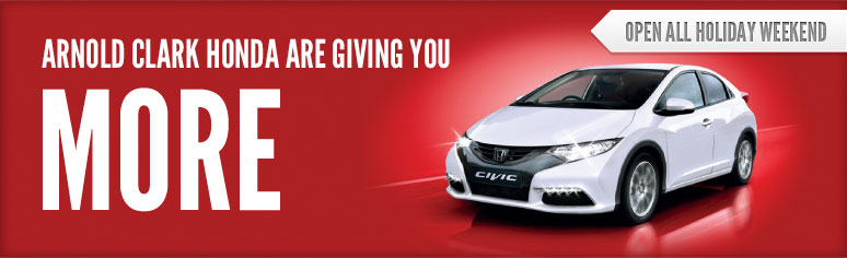 Honda Giving You More