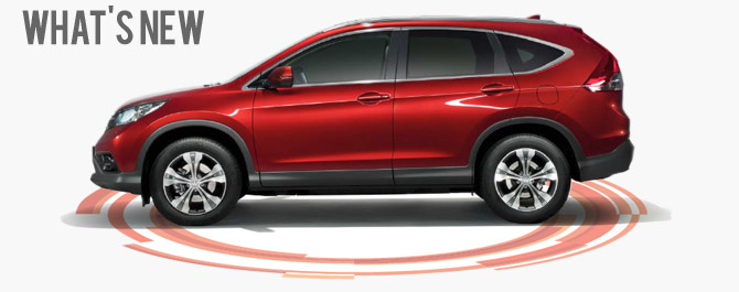 What's New on the 4th generation CR-V arriving soon