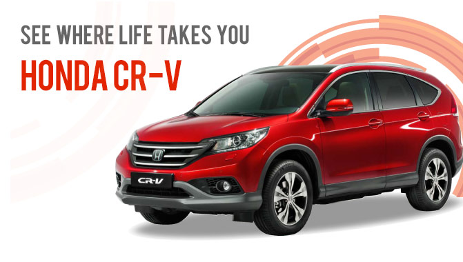 The 4th generation CR-V arriving soon