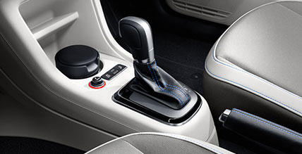 Volkswagen e-up gearstick