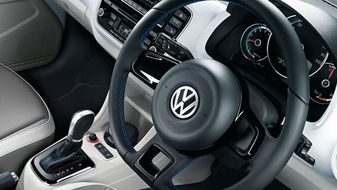 Volkswagen e-up steering wheel