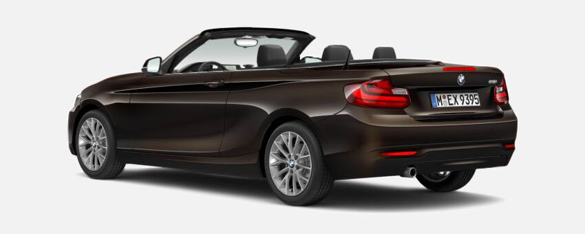 BMW 2 Series car in Sparkling Brown colour
