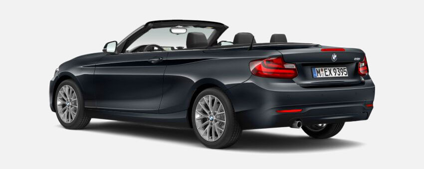 BMW 2 Series car in Mineral Grey colour