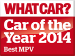 Whatcar? MPV of the year 2014