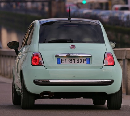 Fiat 500 CULT Rear View