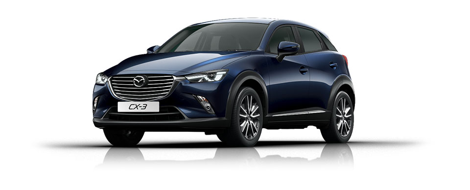 Mazda CX-3 - Crystal Blue