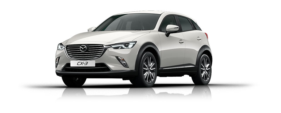 Mazda CX-3 - Crystal White
