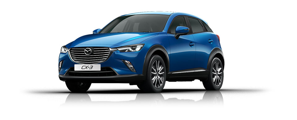 Mazda CX-3 - Dynamic Blue