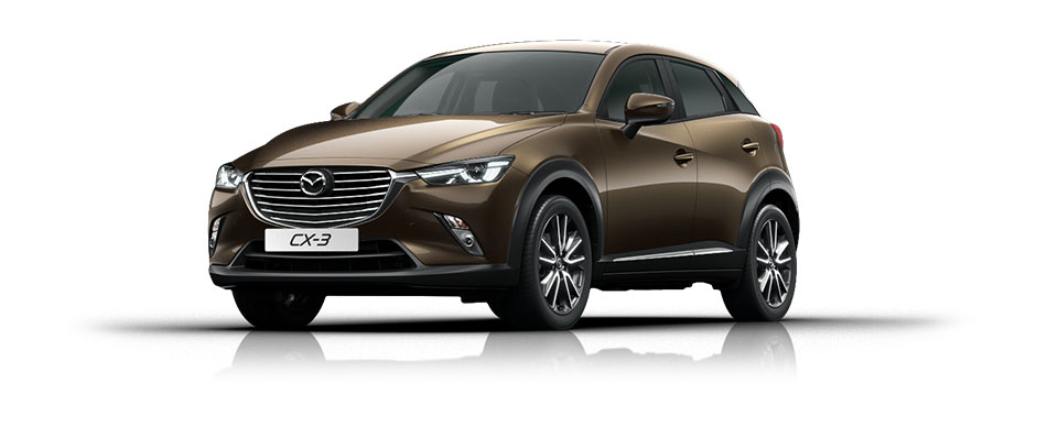 Mazda CX-3 - Titanium Flash
