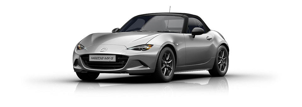 Mazda MX-5 car in Ceramic colour