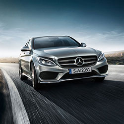Mercedes-Benz C-Class - on the road