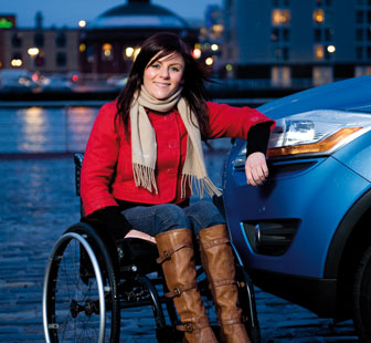 Laura Torrence Motability customer