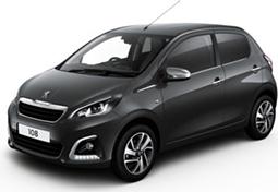 Peugeot Keyless System >> Peugeot 108 | Arnold Clark