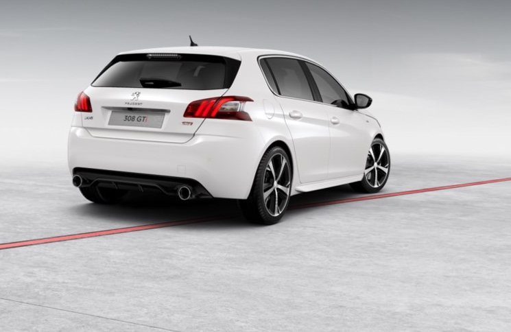 Peugeot 308 GTi - Pearlescent White