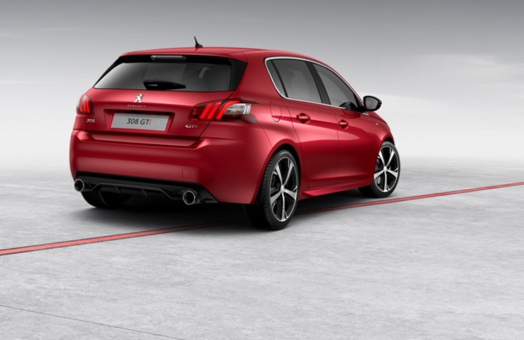 Peugeot 308 GTi - Ultimate Red