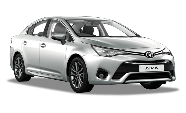 Toyota Avensis - tyrol silver