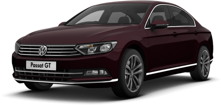 VW Passat | Crimson Red