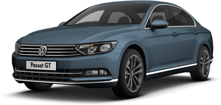 VW Passat | Harvard Blue