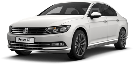 VW Passat | Pure White