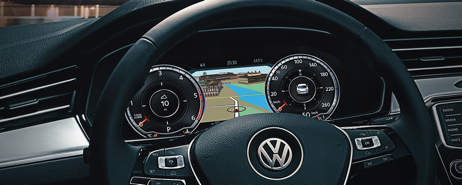 VW Passat | Active Info Display