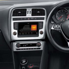 The Volkwagen Polo dashboard