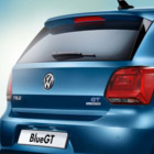 The Volkwagen Polo rear of car