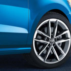 The Volkwagen Polo wheel trims