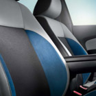 The Volkwagen Polo interior seating