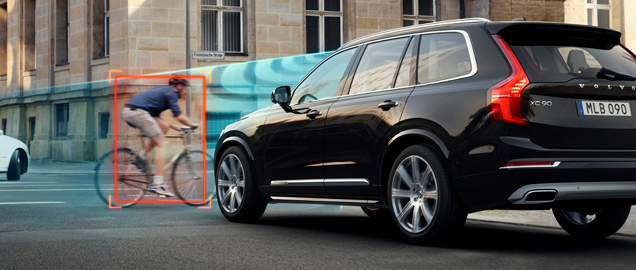 Volvo XC90 - City Safety 1