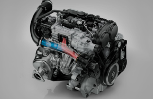 Volvo XC90 - Engine 1