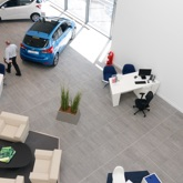 Thumbnail of Hyundai Alexandra Parade interior showing sunny, modern showroom with plants
