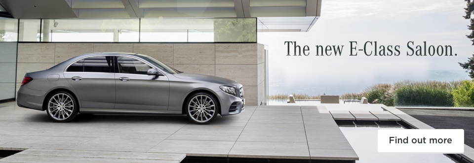 Mercedes-Benz E-Class - Coming soon