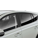 Toyota Rav4 privacy glass