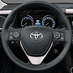 Toyota Rav4 Leather steering wheel