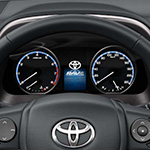 Toyota Rav4 colour display