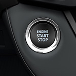 Toyota Rav4 push start button